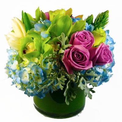 A Touch of Lavender Flower Arrangement