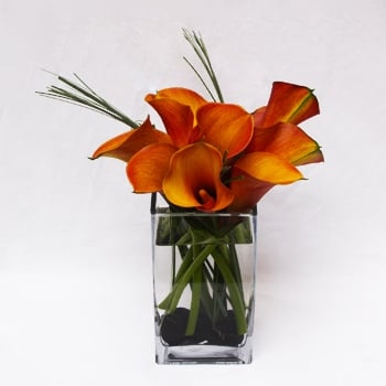 Apricot Summer Flower Arrangement