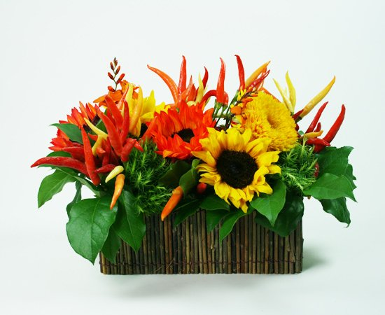 Pepperin' Around Flower Arrangement