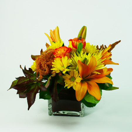 Golden Waves Flower Arrangement