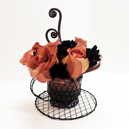 Coffee Break Flower Arrangement