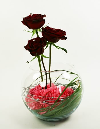 Heart's Desire Flower Arrangement