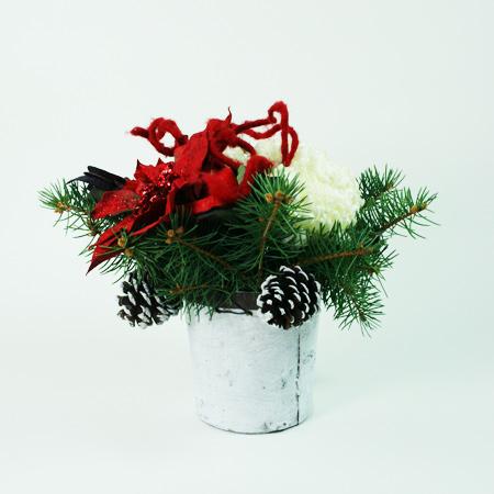 Home for Christmas Flower Arrangement