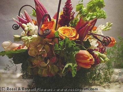 Tangerine Blend Flower Arrangement