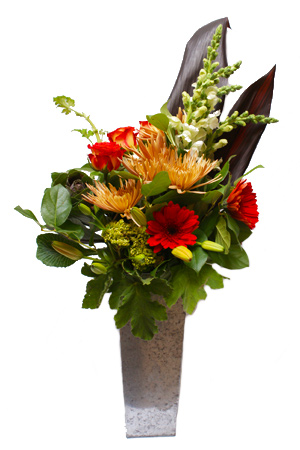 Fall Fashion Flower Arrangement