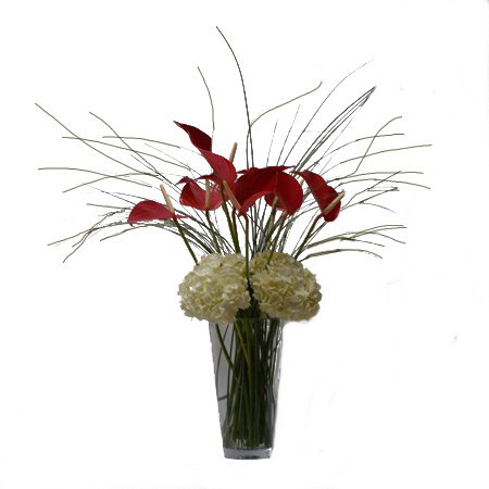 Tropical Snow Flower Arrangement