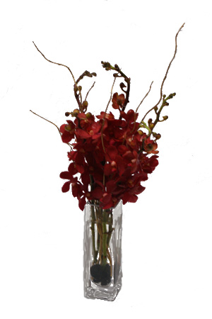 Golden Vanda Flower Arrangement