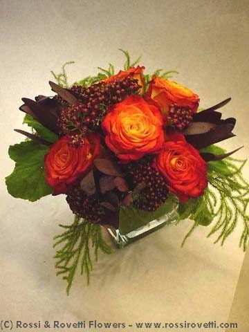 Festive Circus Roses Flower Arrangement