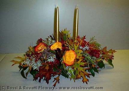 "Festive Centerpiece- ""Inverno Collection"" Flowers"