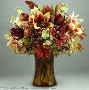 "Pomegranate Harvest - ""Inverno Collection"" Flowers"
