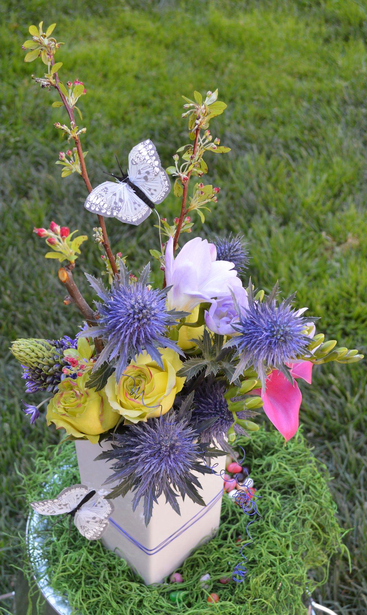 Butterfly Grove Flower Arrangement