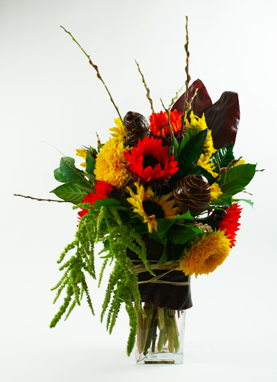 Sunflowers Galore Flower Arrangement