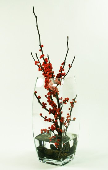 Pure Ilex Flower Arrangement