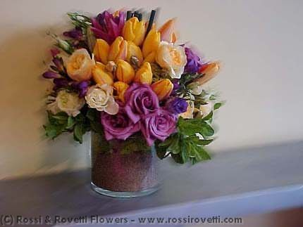Tulips Galore Flower Arrangement