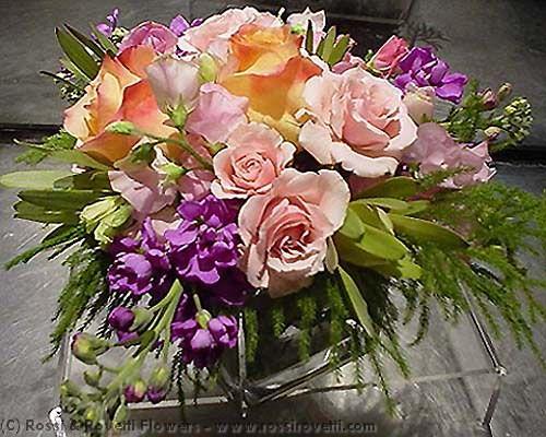 Geisha Rose Blend Flower Arrangement