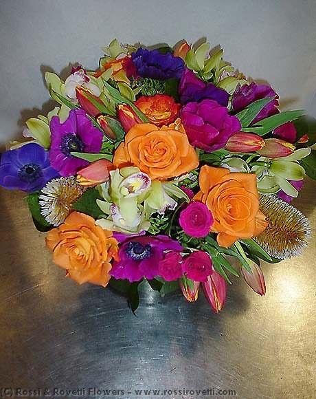 Technicolor Bouquet - Flower Arrangement
