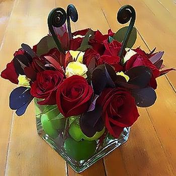 Apple Tart Flower Arrangement
