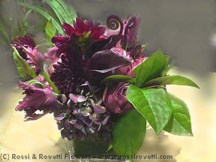 Purple Poison Flower Arrangement