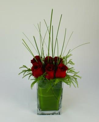 Contemporary Love Flower Arrangement