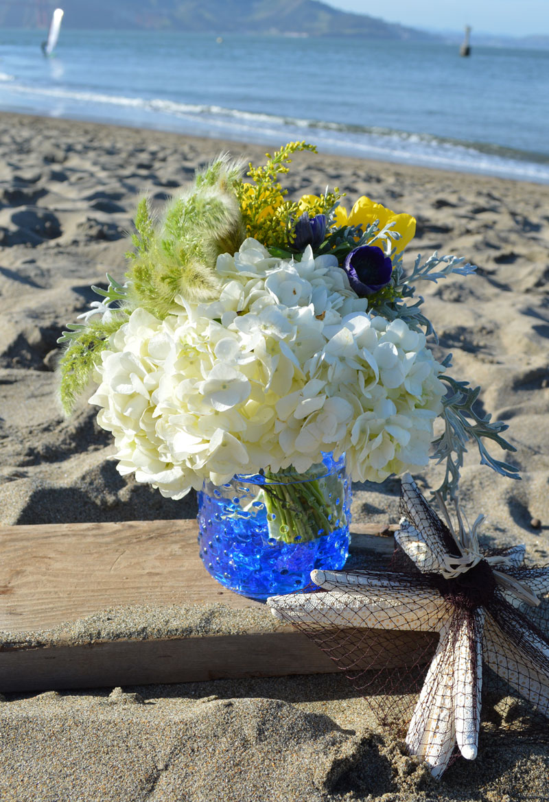 Blue Horizon Flower Arrangement