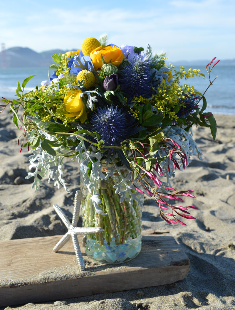 Sea Spray Flower Arrangement
