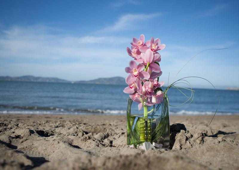 Pink Orchid Bouquet Arrangement