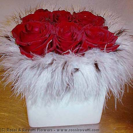 Sexy Red Roses - Half Dozen Flowers