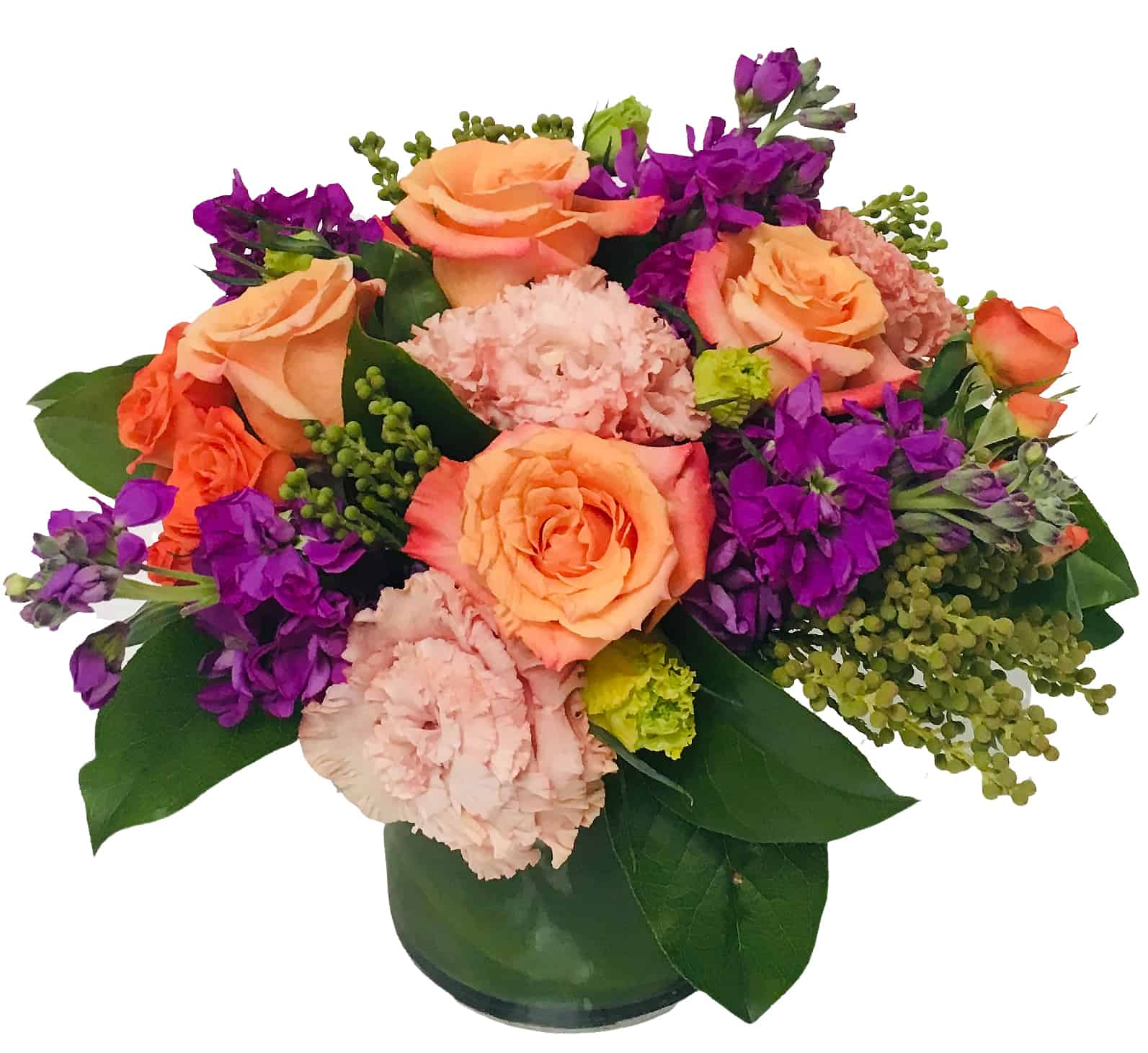"""Compassione di Rosa"" Flower Arrangement"