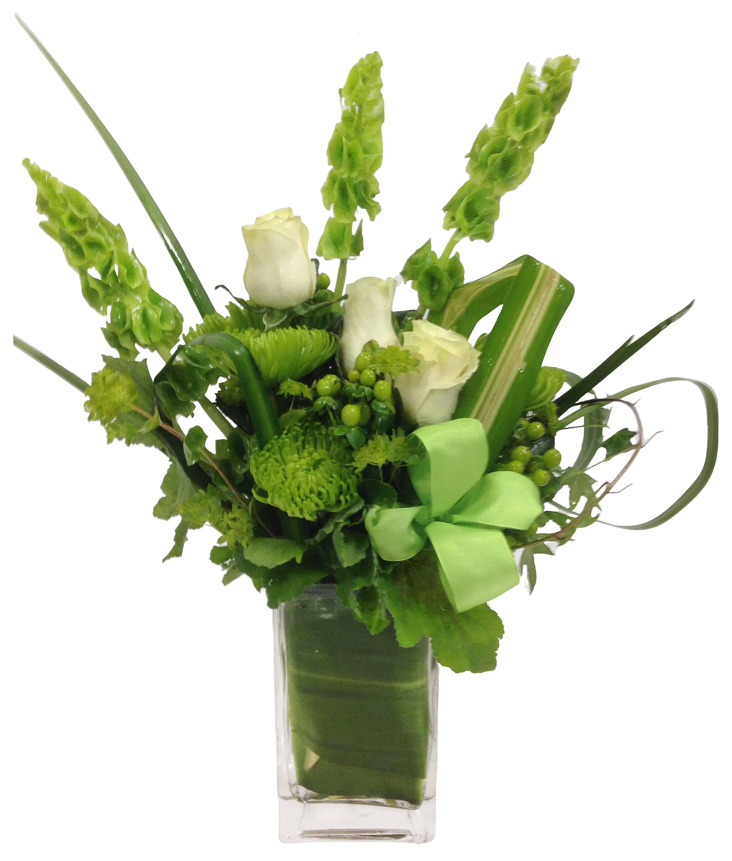 The Bells of Ireland Flower Arrangement