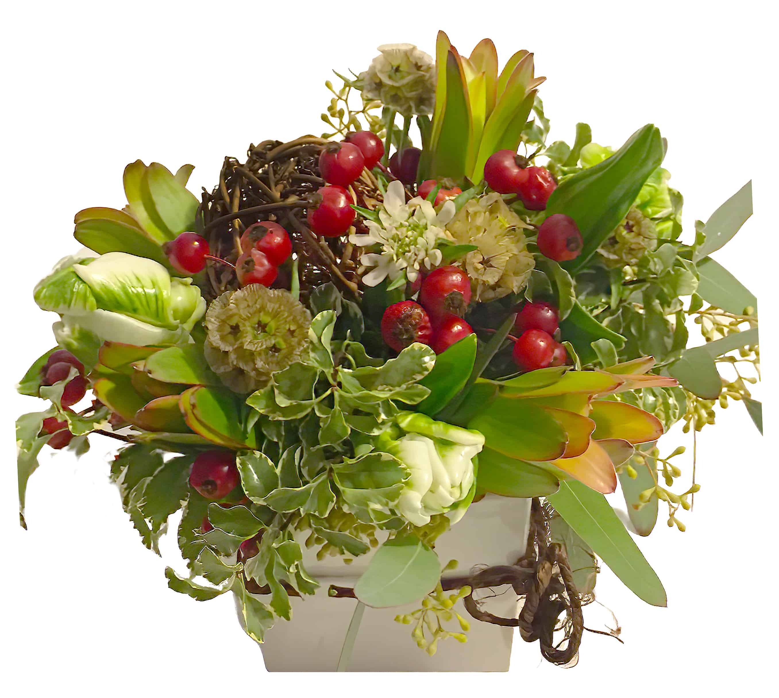 Blast of Brown Flower Arrangement