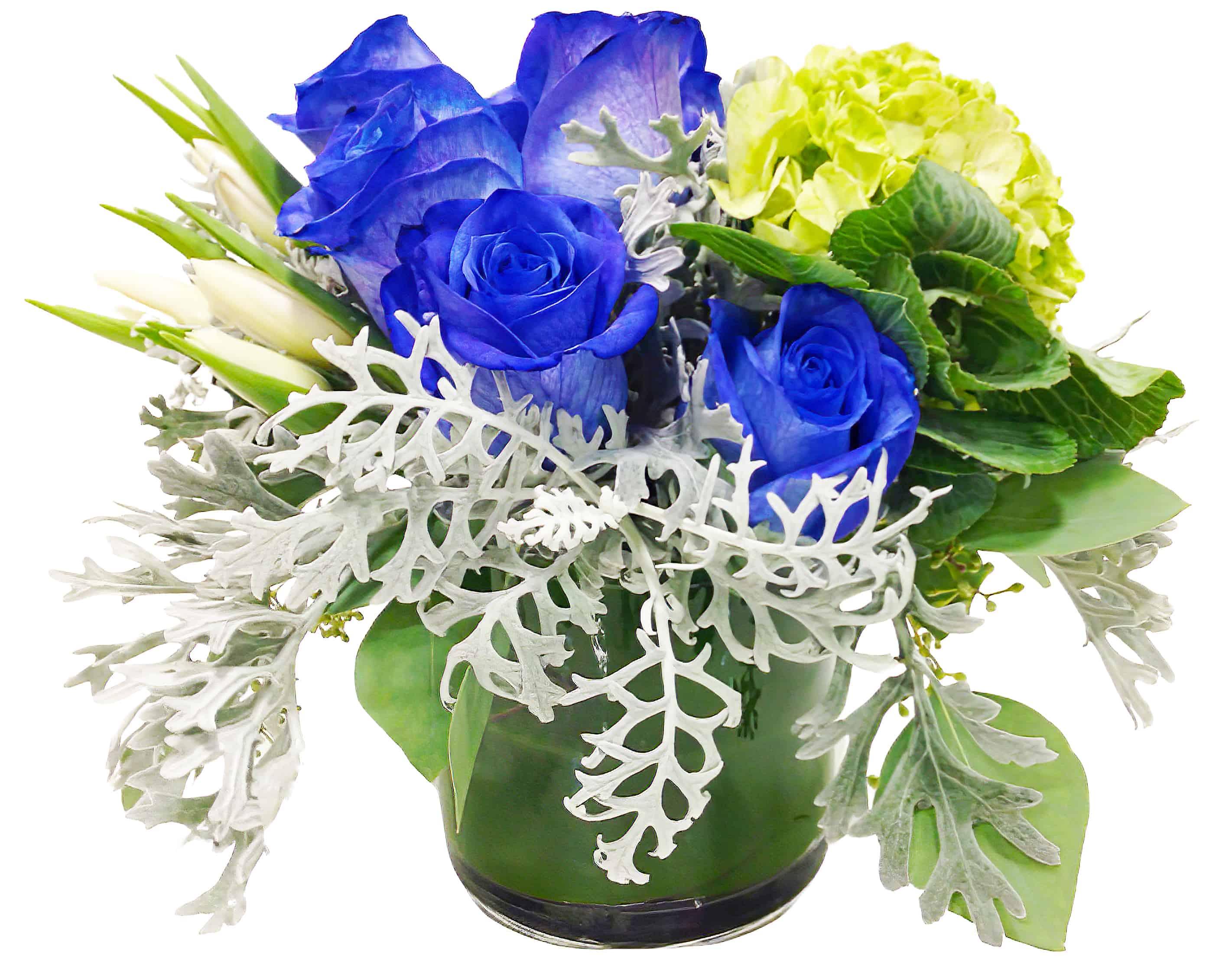 Blue Moon Flower Arrangement