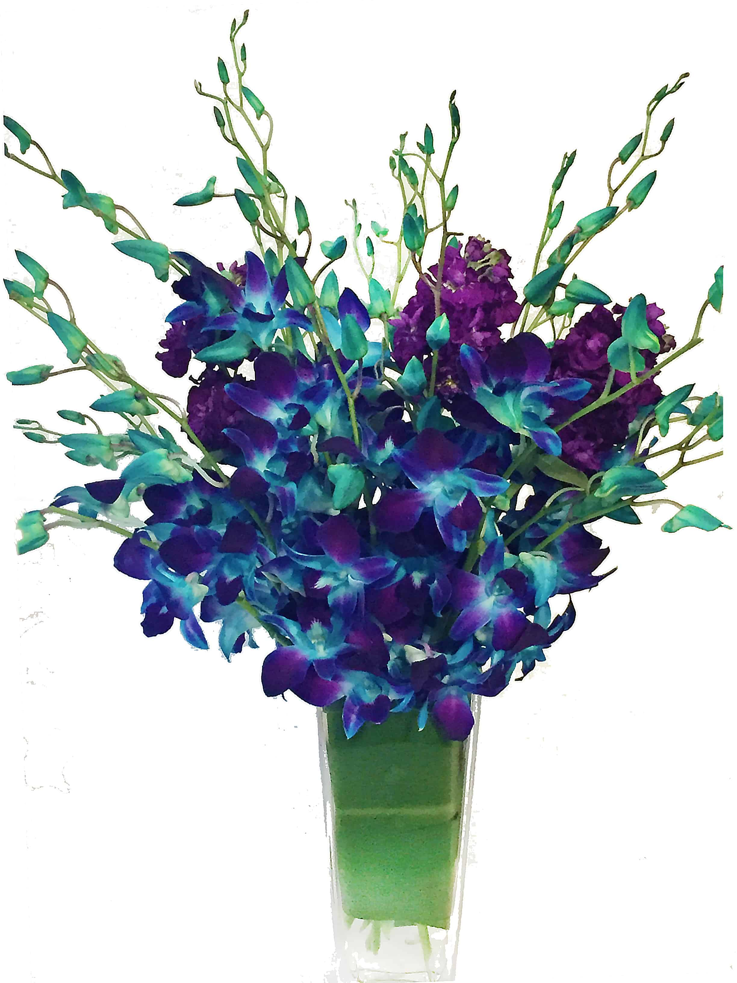 Bright Night Sky Flower Arrangement