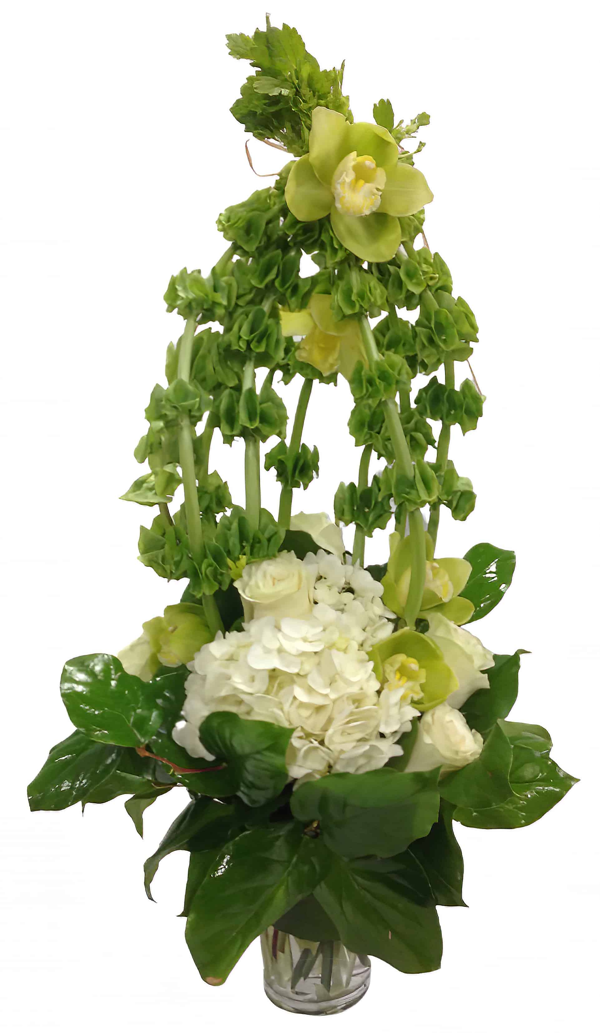 Bellezza Verde Alta Flower Arrangement