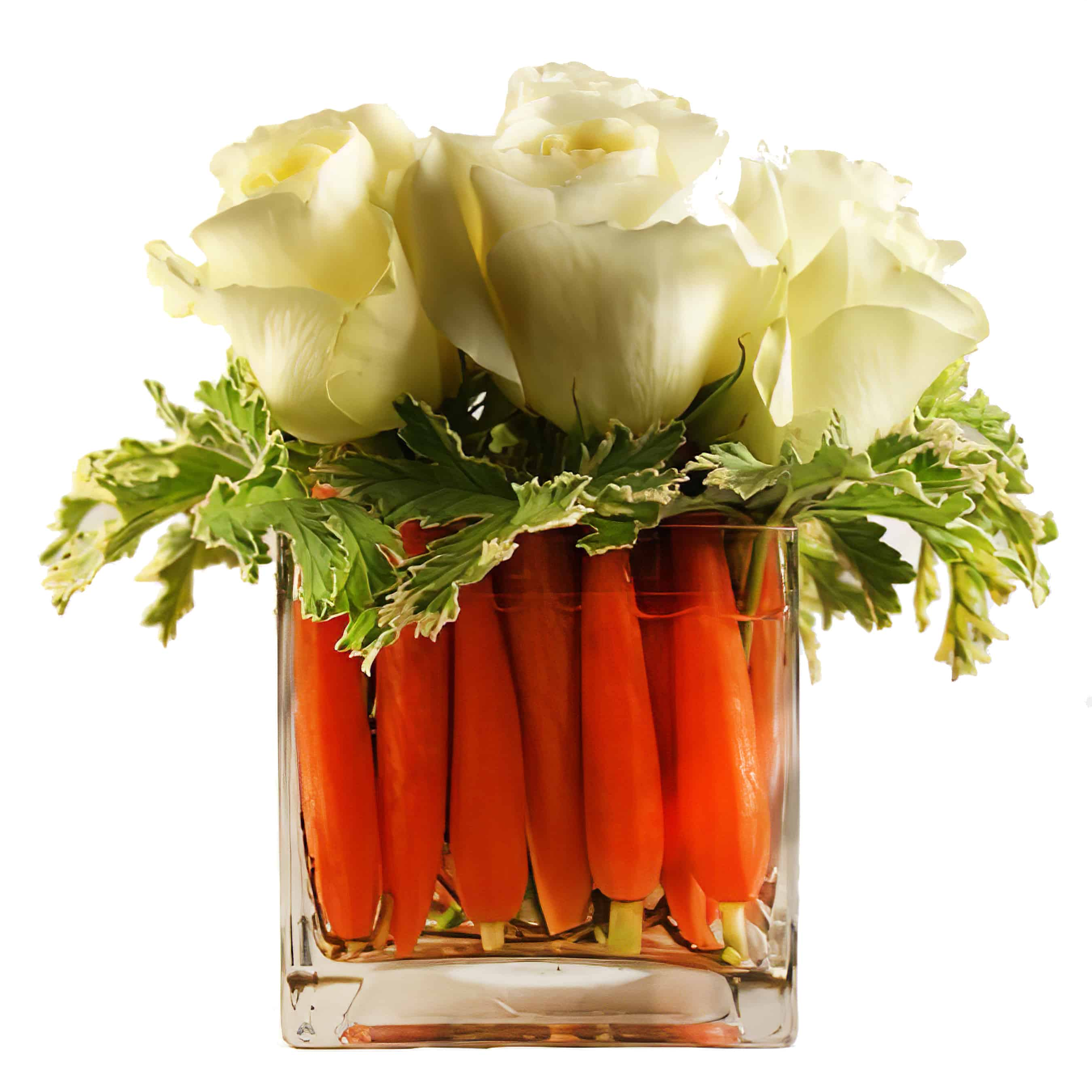 Carrot Cake Flower Arrangement