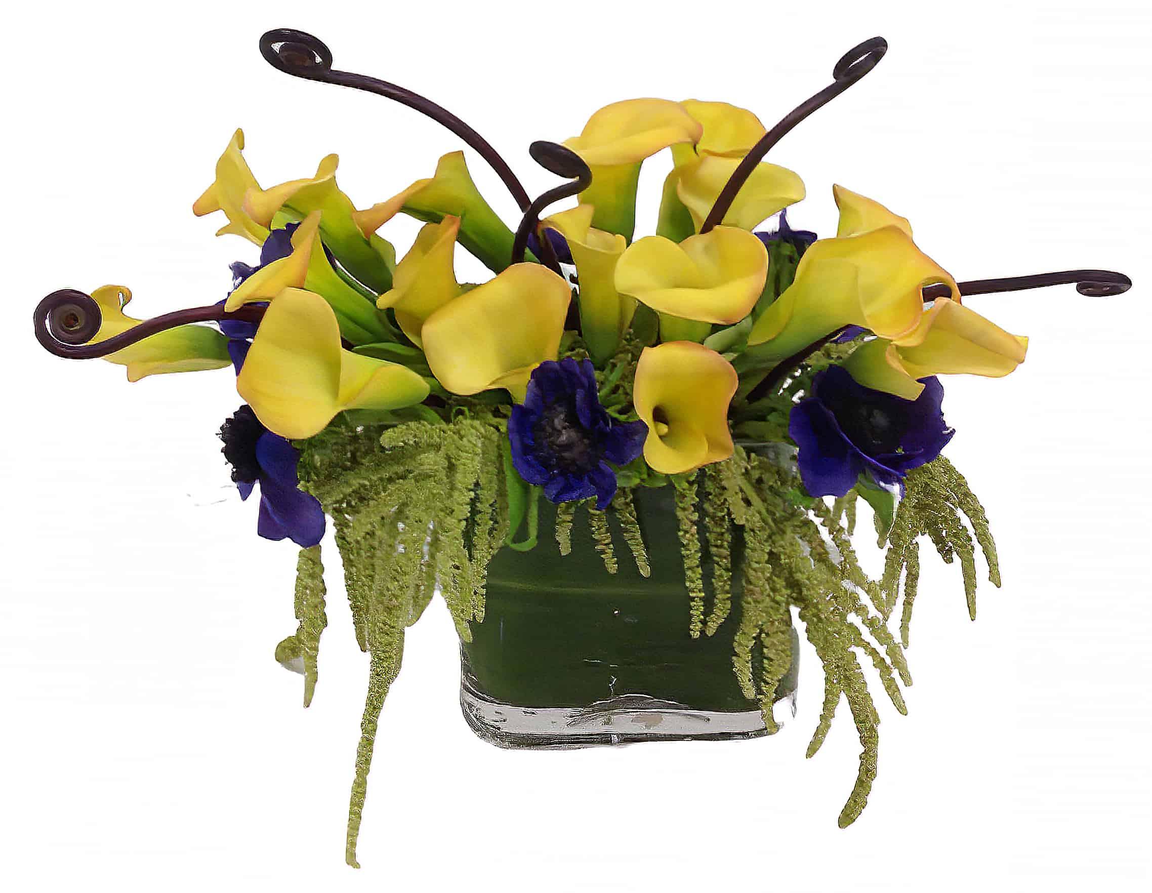 Calla Curls Floral Arrangement