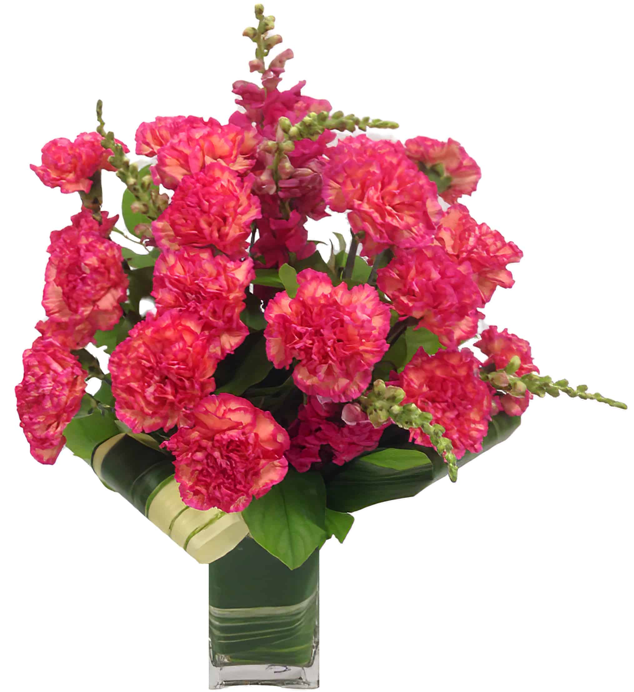 Carnation Moderne Arrangement