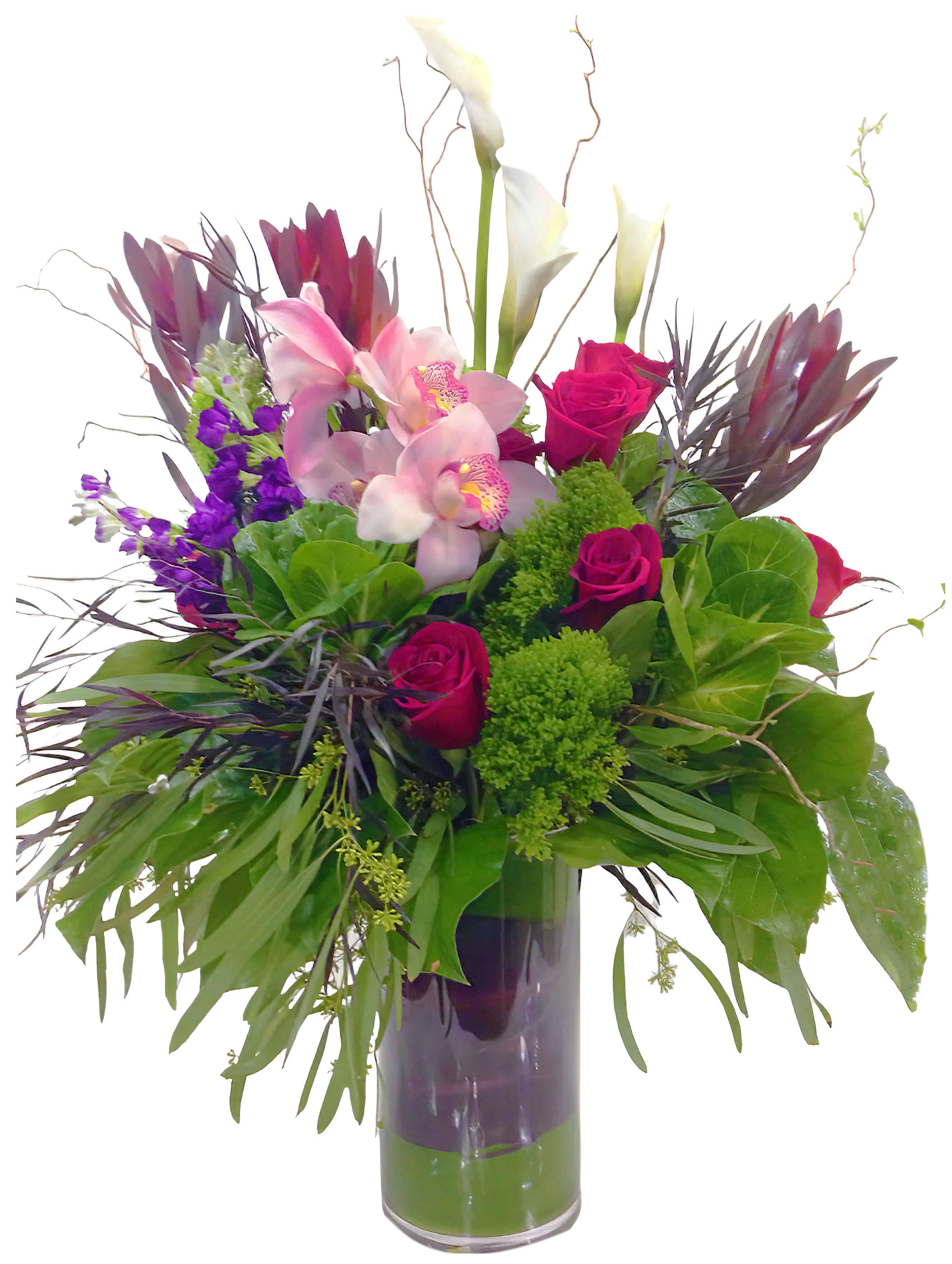 Passionate Pinks Flower Arrangement