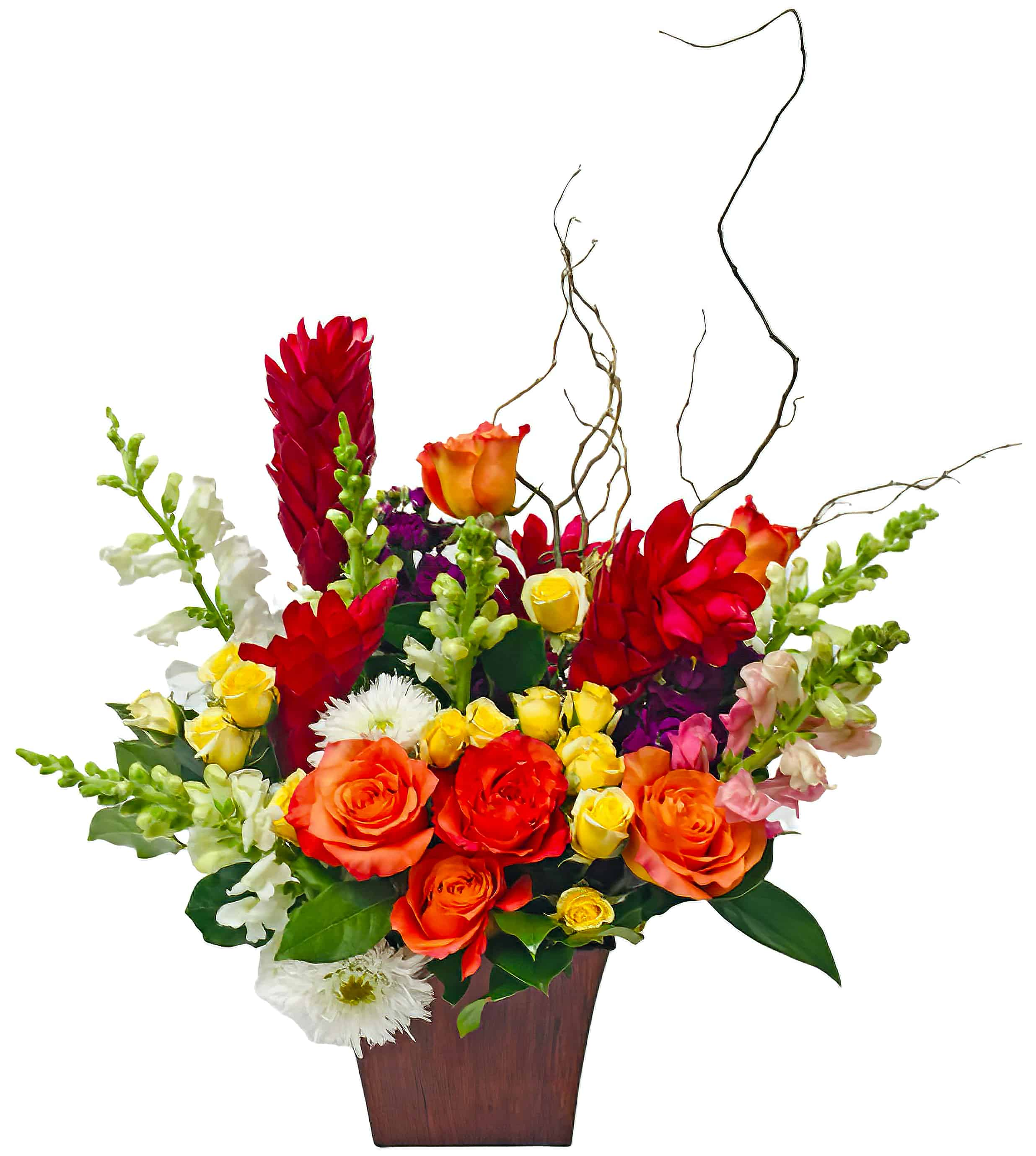 """Corporativo Tropicale"" Flower Arrangement"