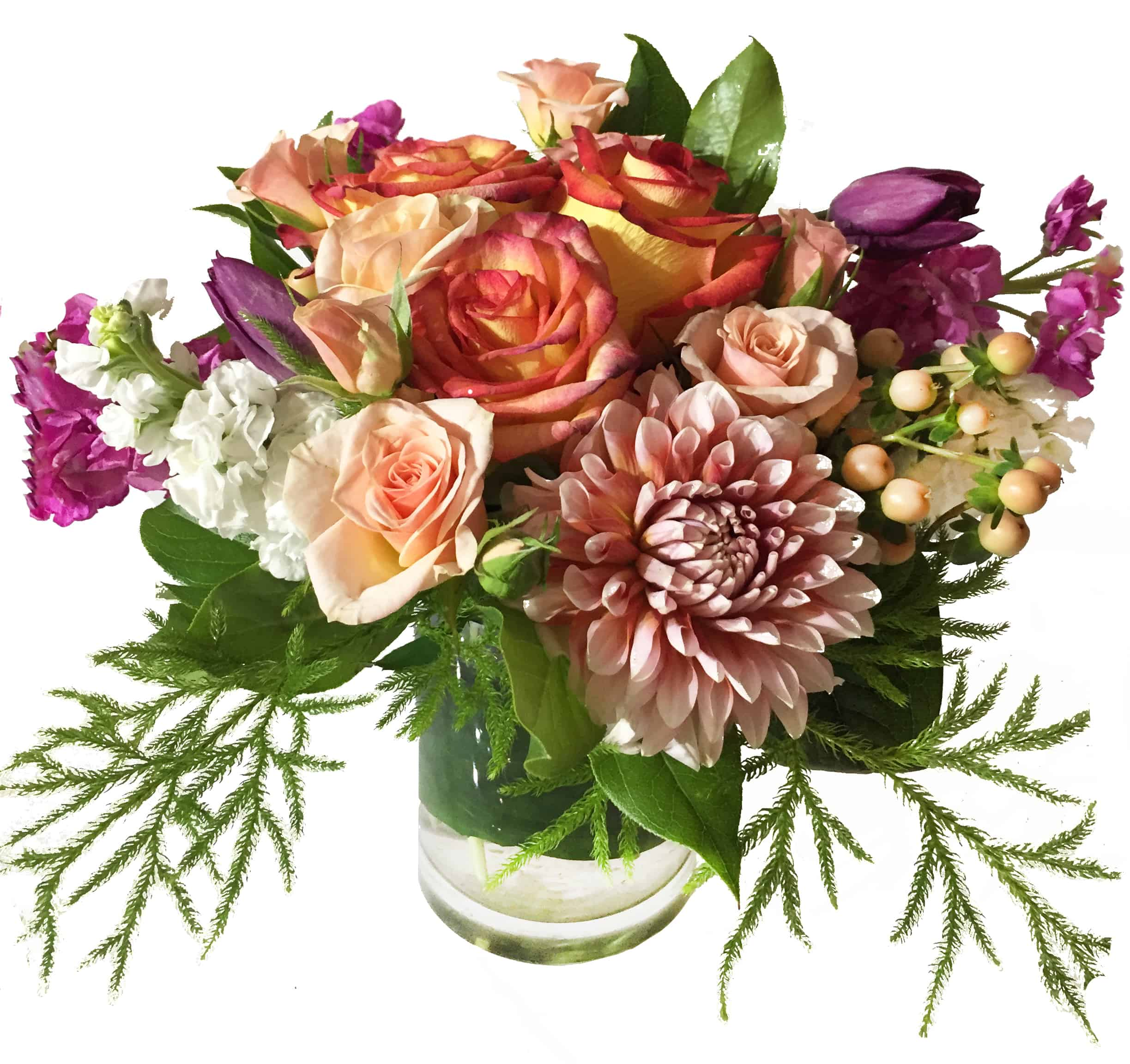 Evening Attraction Flower Arrangment