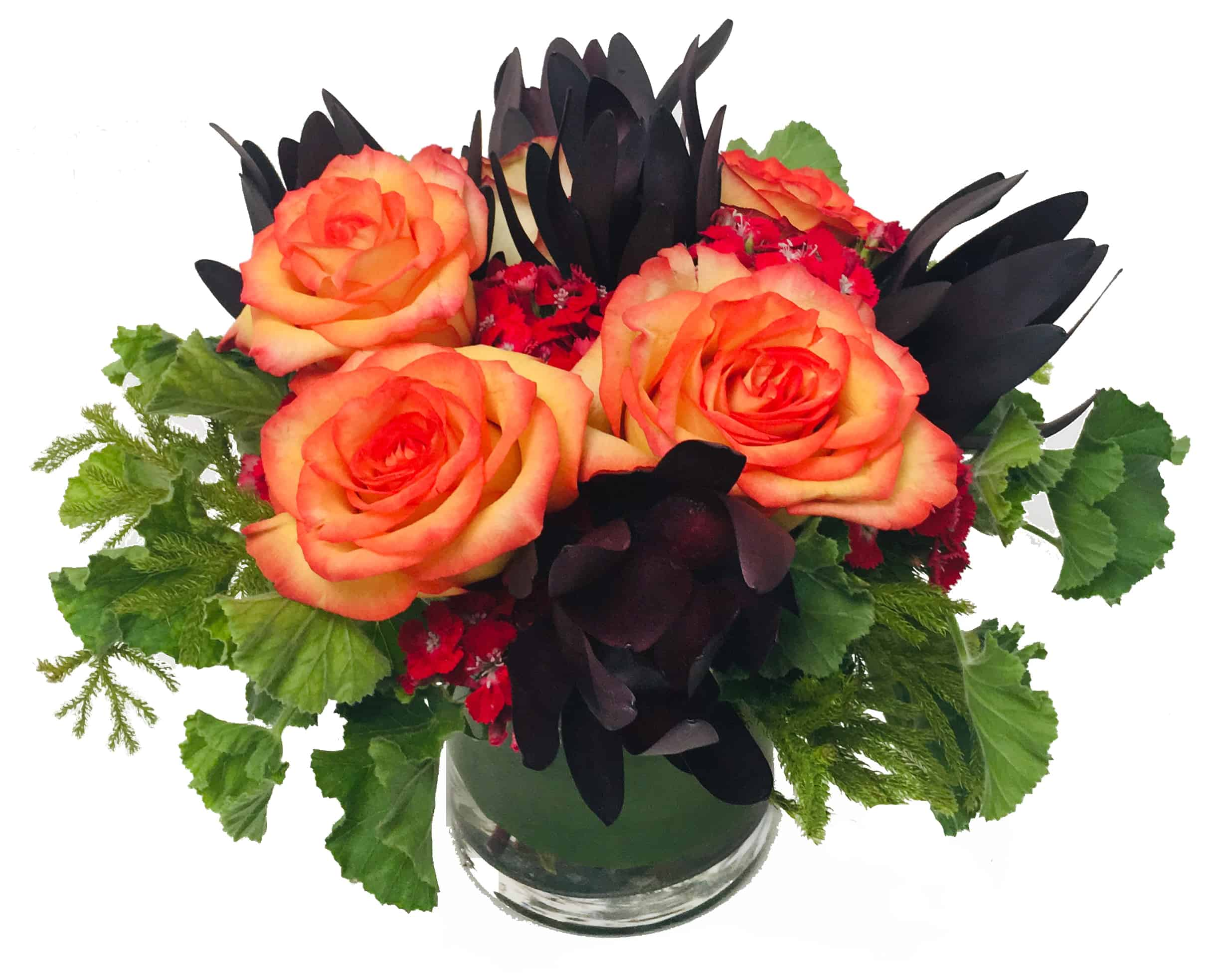 Safari Rose Flower Arrangement