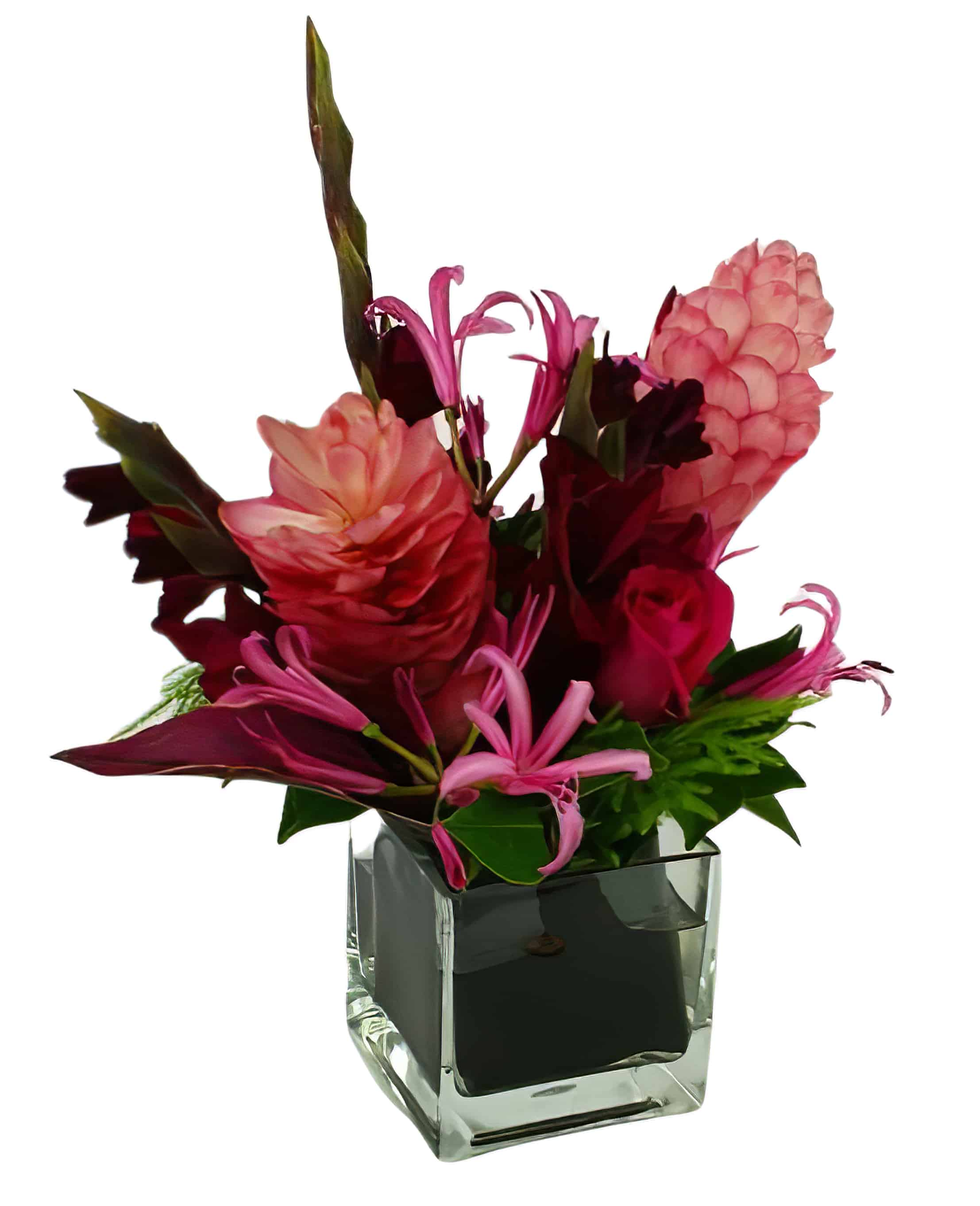 Flavor of the Tropics Flower Arrangement