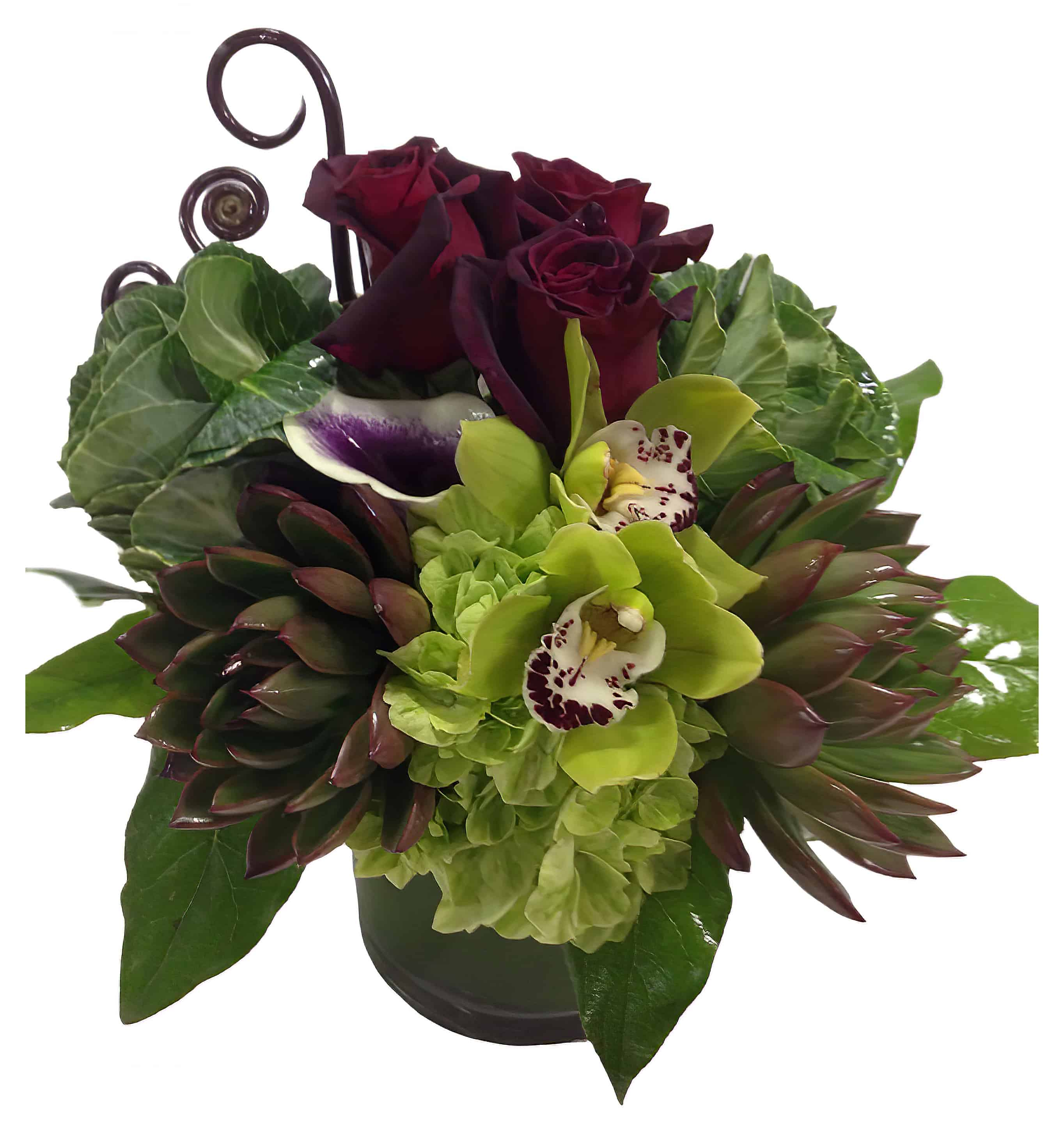 Go Purple Flower Arrangement