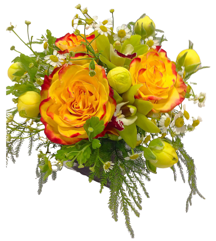 Sole Luminoso Floral Arrangement
