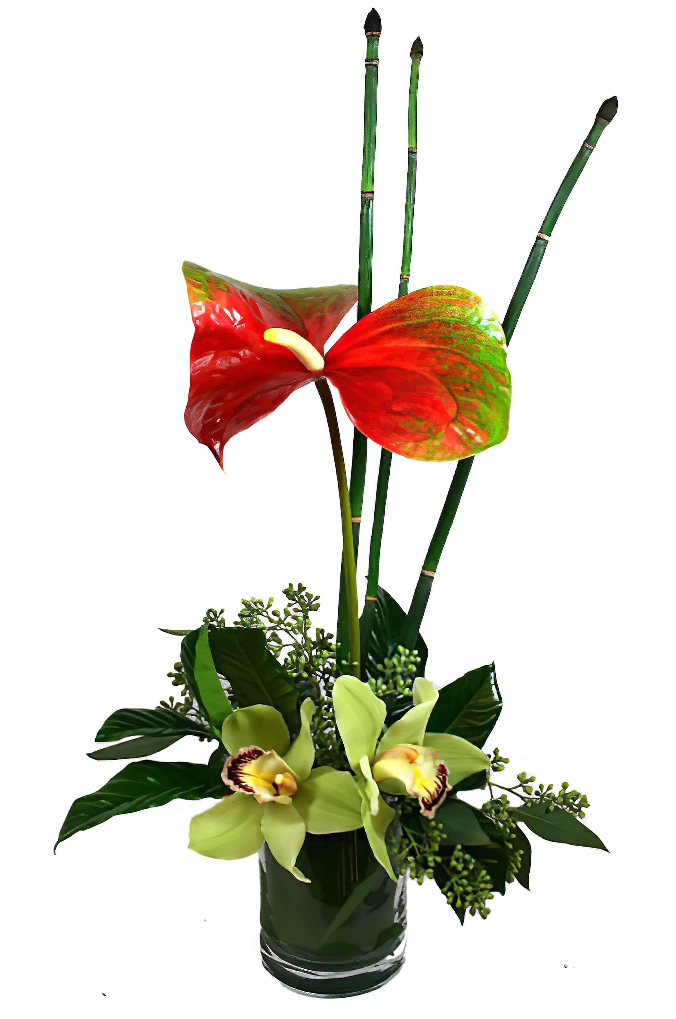 Hawaii Five-O Flower Arrangement