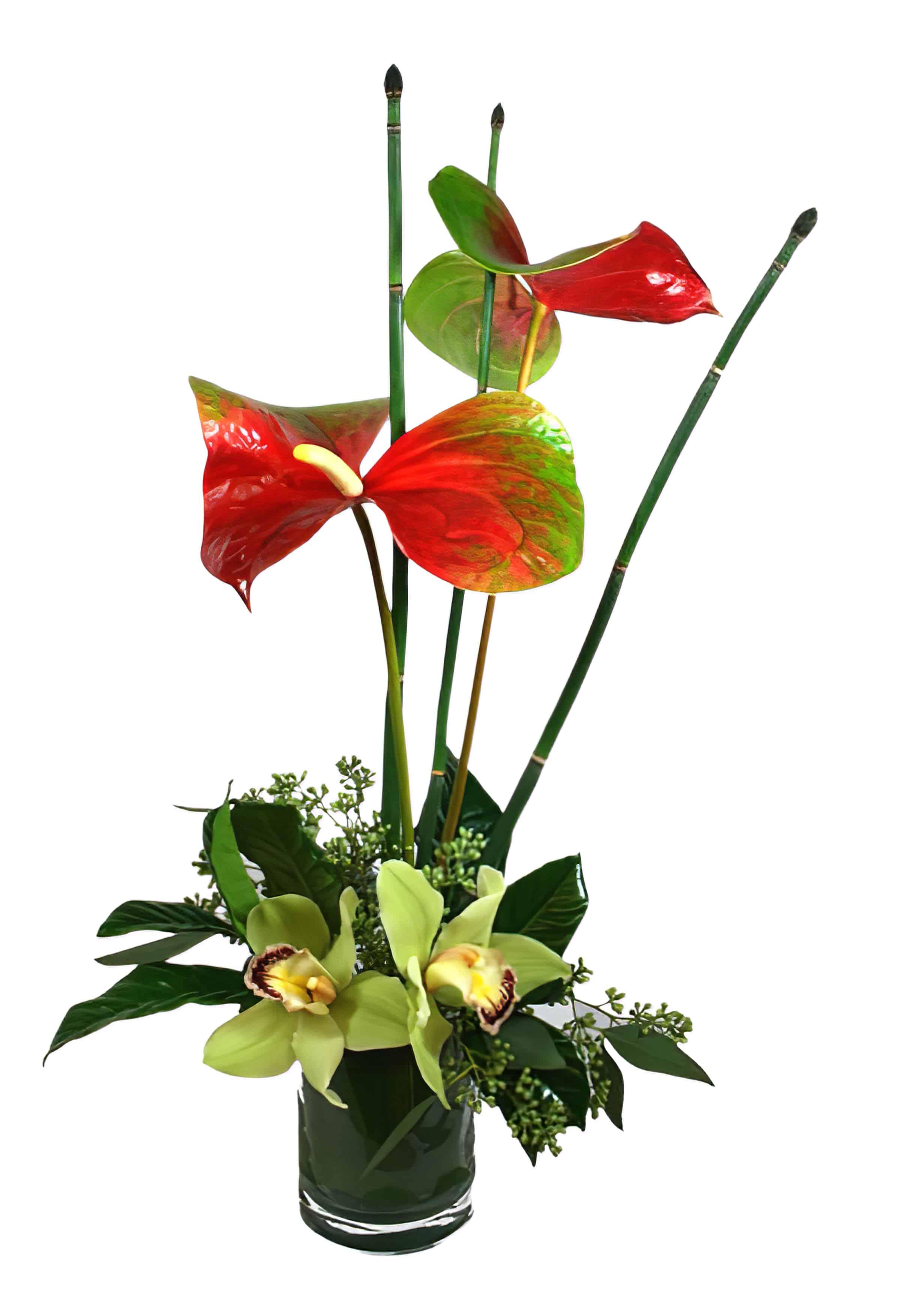 Hawaii Six-O Flower Arrangement