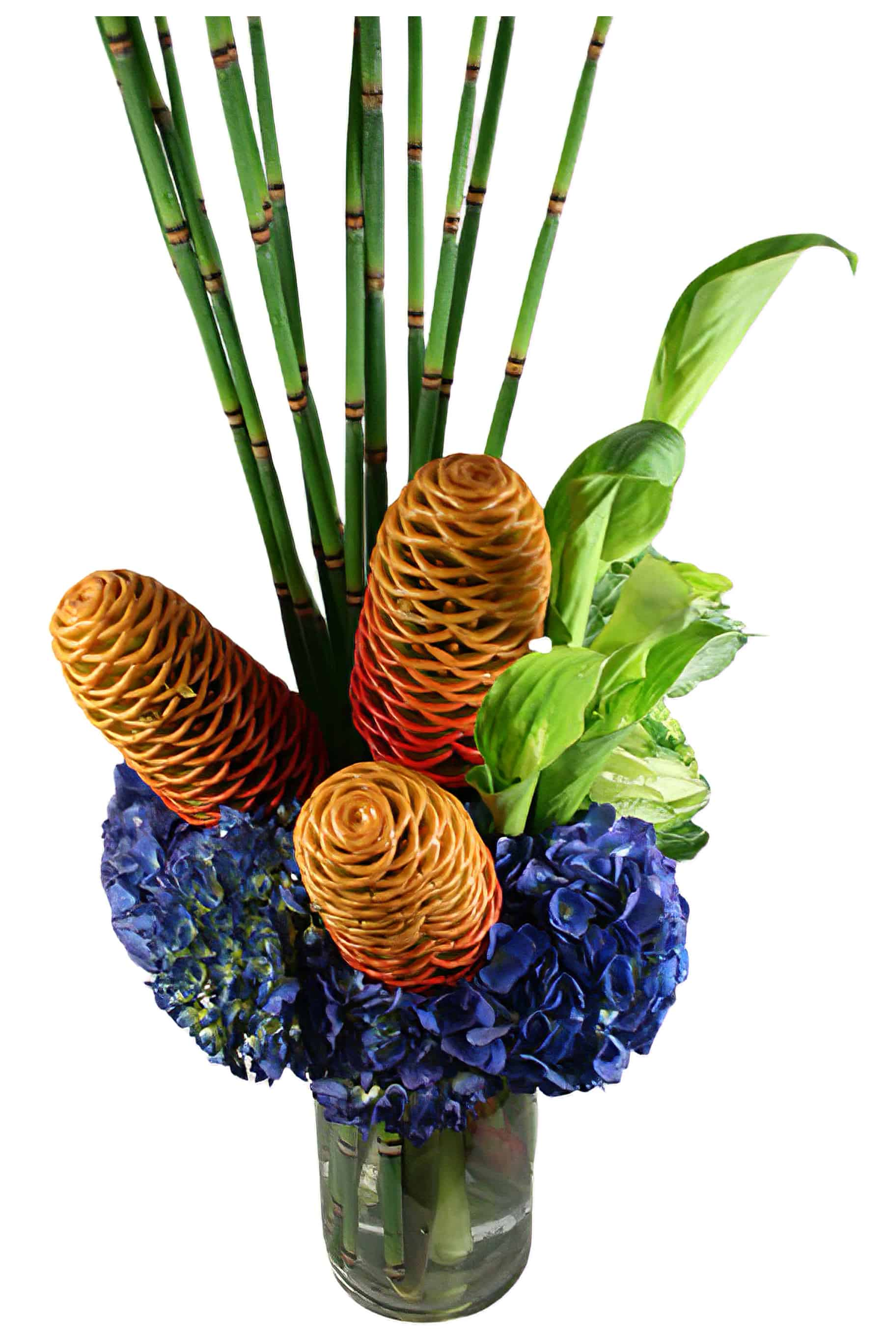 Honeycomb Flower Arrangement