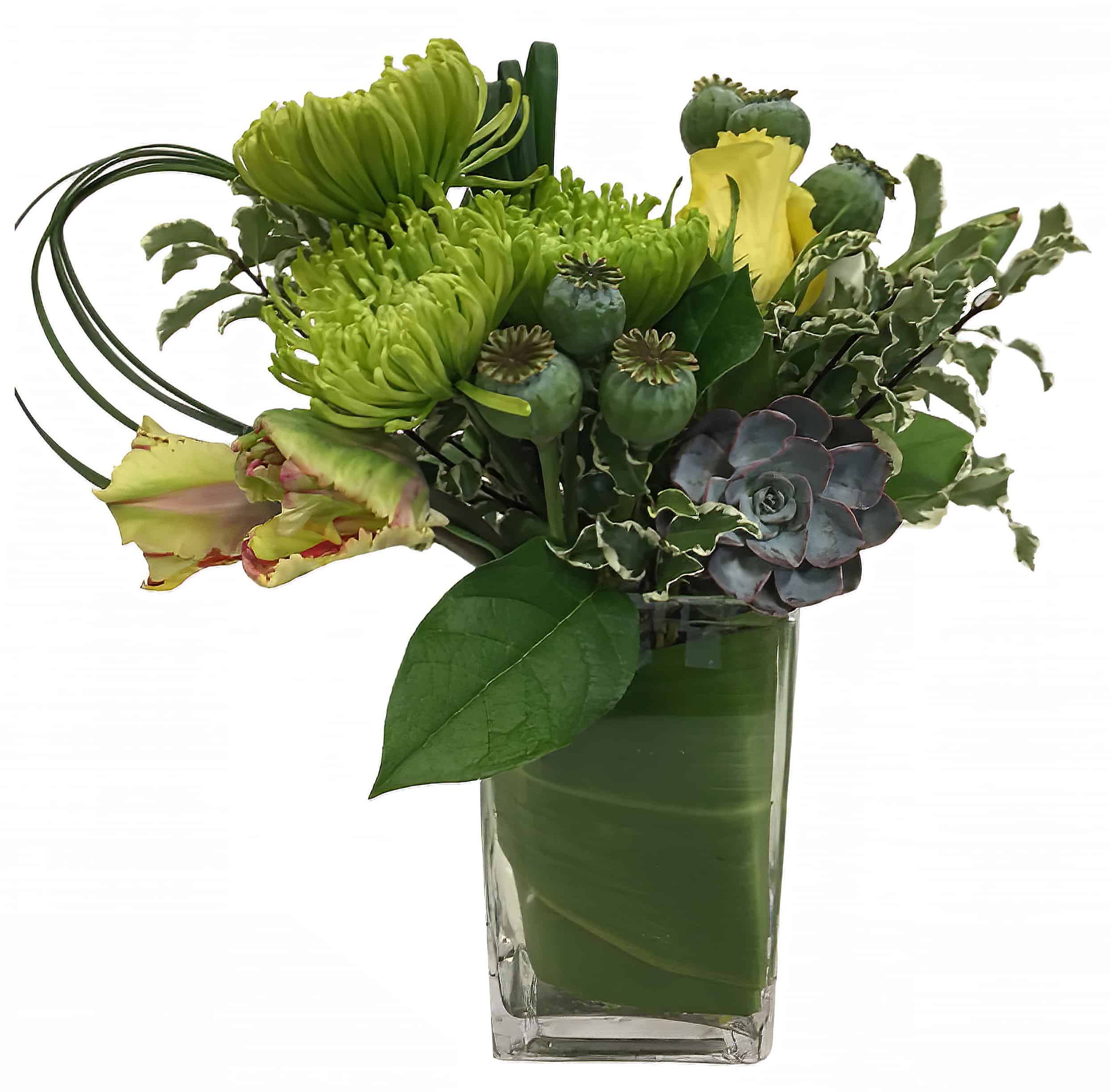 Irish Rainbow Flower Arrangement