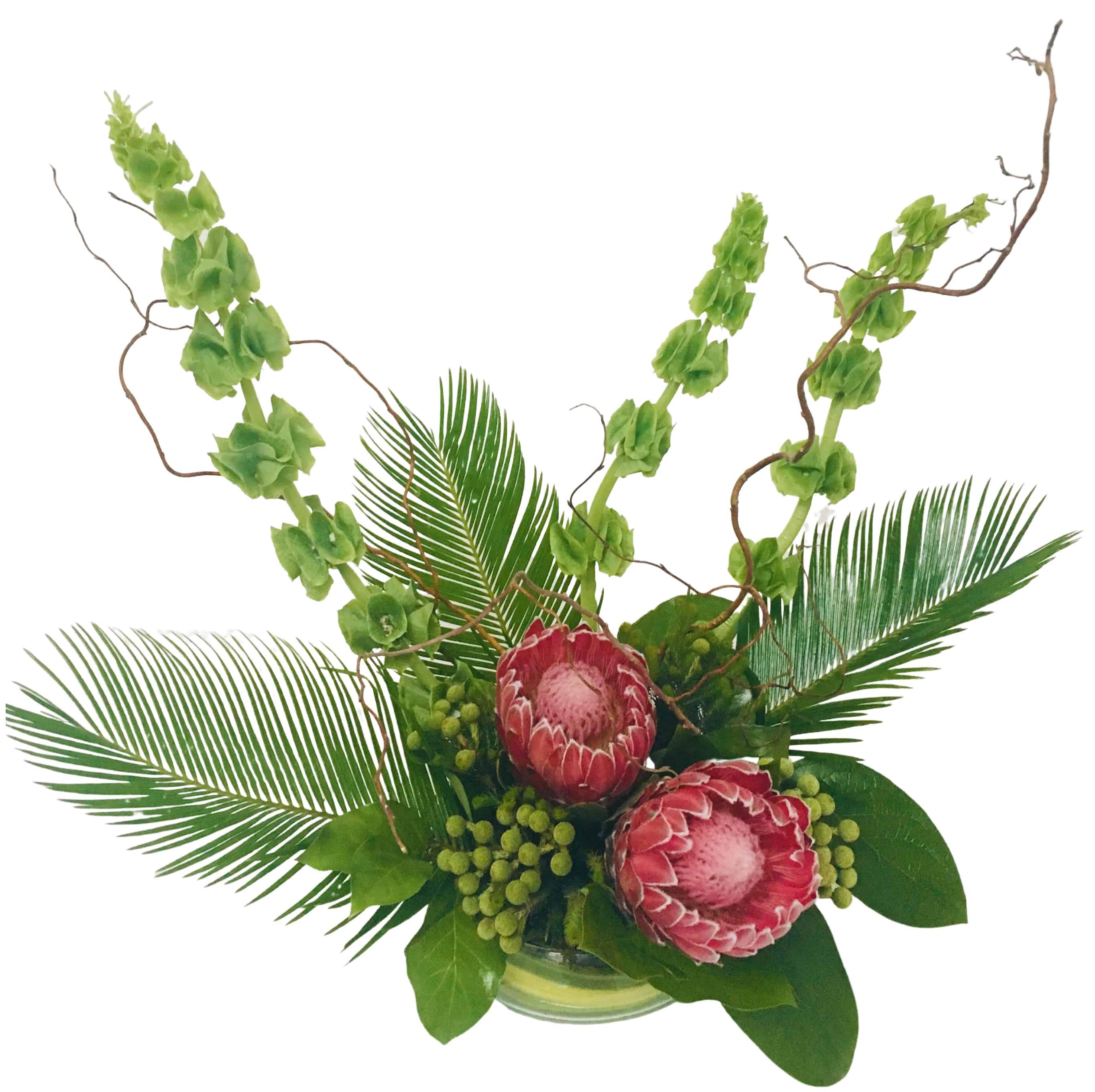 """""""Konnichiwa"""" Flora Ikebana Flower Arrangement"""