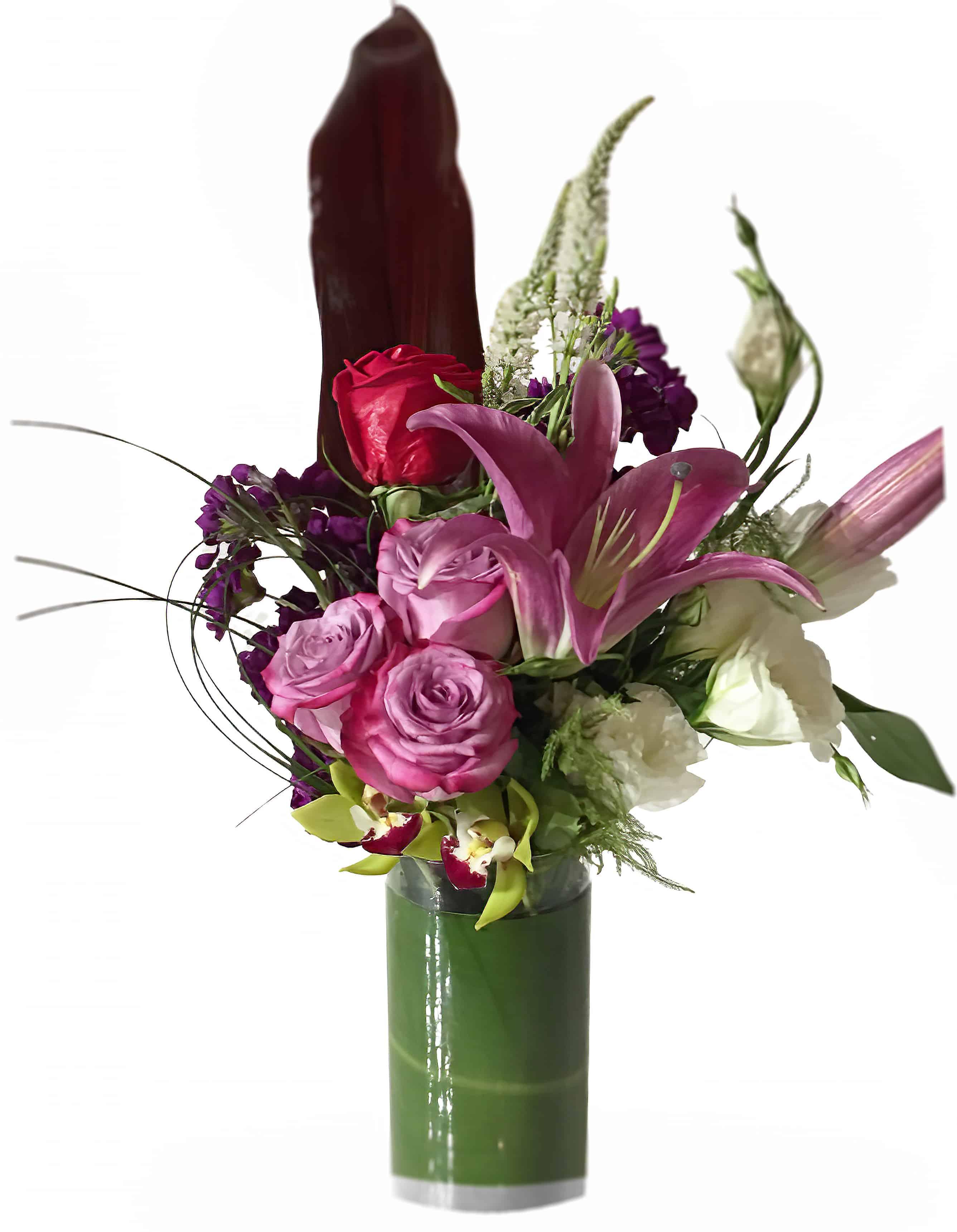 Pink Ladies Flower Arrangement