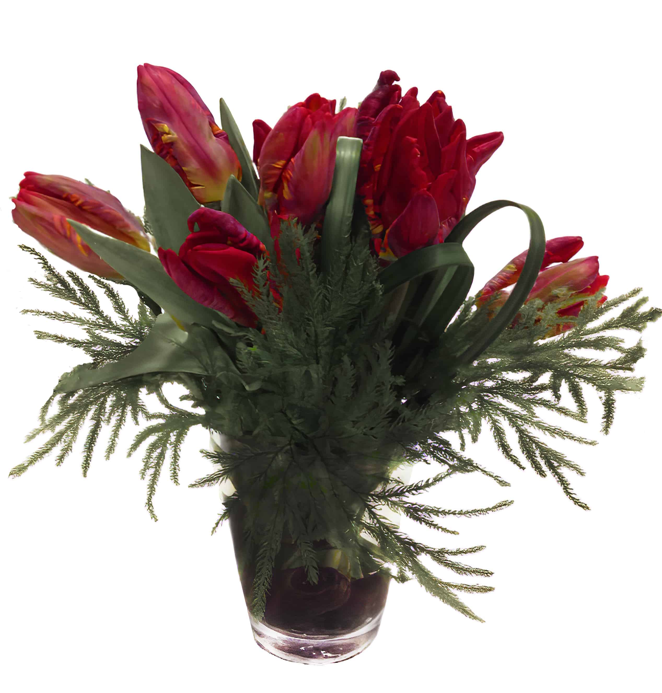 Love in Red Flower Arrangement